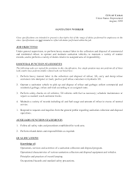 Cover Letter General Laborer Job Description Explain A General