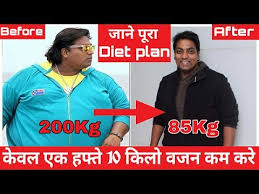 How To Lose Weight Fast Ganesh Acharya Transformation In Hindi