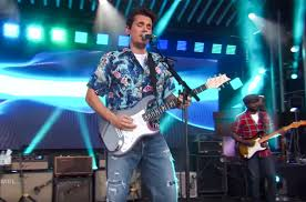 John Mayer The Light John Mayers Jimmy Kimmel Performance Watch Billboard