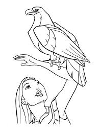 Small Picture Pocahontas coloring pages eagle ColoringStar