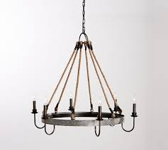 wine barrel lighting. napa wine barrel chandelier lighting