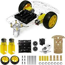 The perseids DIY Robot Smart Car Chassis Kit with ... - Amazon.com