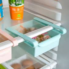 slide kitchen fridge freezer space saver organizer