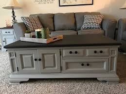 painted coffee table ideas25 best Refinished end tables ideas on Pinterest  Painting end