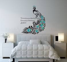 bedroom  energetic bedroom wall art with wall quotes and recessed