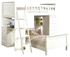 desk safe functional white youth twin storage loft bunk bed drawers study desk hutch contemporary