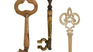 new key wall decor modern home imax walter wooden keys set of 3 target canada antique decorations decorative holders