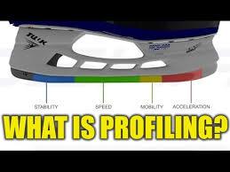 Bauer Skate Blades Chart What Is Hockey Skate Profiling Ft Prosharp