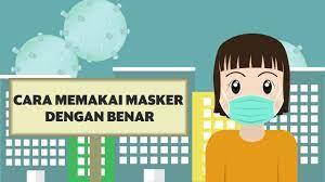Gambar kartun orang pakai masker. Pencegahan Virus Corona Sudah Benarkah Cara Anda Memakai Masker Youtube