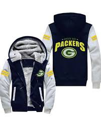 wwgbp 03 usa rugby nfl green bay packers football zipper with hat hoos team sports jacket