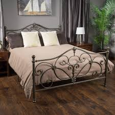 Kelford Champagne Iron Metal Bed Frame King Size   1940's New HOME ...