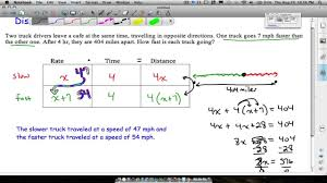 Rate Times Time Equals Distance Chart Distance Rate Time Word Problems