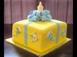 Simple Diy Baby Shower Cake Ideas Youtube