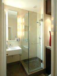 small bathroom ideas with shower only bathroom contemporary stone tile bathroom idea in small bathroom shower