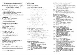 Arithmetik, Geometrie und Algebra in der frühen Neuzeit vom 11.