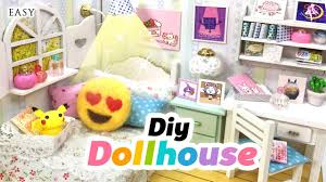 mini doll furniture. DIY Fandom Dollhouse!! Cute Miniature Room Decor With Undertale, Neko Atsume, Emoji, Pusheen \u0026 Co! - YouTube Mini Doll Furniture H