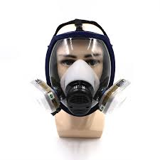 7 piece suits painting spraying similar for 6800 gas mask n95 full face facepiece respirators for painting filter pesticide mask in respirator from security