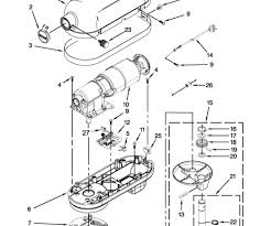 Large size of breathtaking stand mixer parts diagram contemporary kitchenaid wiring professional lift bowl l archived