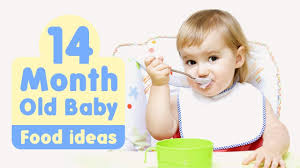 Food Ideas For 14 Month Old Baby