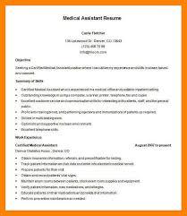 resume scanner resume scanner 10 resume for medical assistant