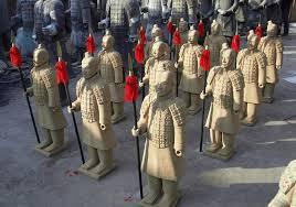terracotta warrior garden statues chinese