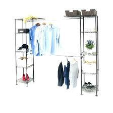 expandable closet organizer classics system seville expandab