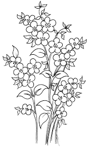 flower stencils for painting glass