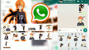 Easycodesbr is one of the most popular whatsapp stickers apps you can currently find in the play store. Stiker Whatsapp Anime Haikyuu Link Download Png Youtube