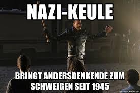 Bildergebnis für Bilder zu Nazikeule
