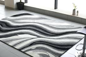 ideas black and grey area rugs or decorate your living room with modern rugs 14 black