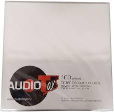 Внешние пакеты для винила AudioToys LP Outer Record Sleeves ...