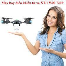 Flycam Mini,Flycam Full Hd - Máy bay điều khiển từ xa XT-1 kết nối Wifi 2.4  GHz quay phim, chụp ảnh Full HD 720P - Thiết Bị Quay Phim