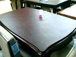 plexiglass desk protector custom