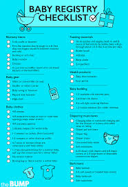 list of items needed for baby baby checklist 56 baby essentials