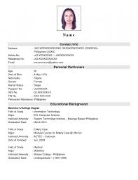 jobstreet pitch sample for resume resume template example
