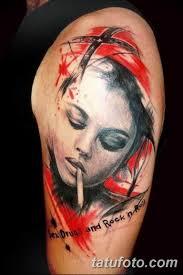 фото тату портрет женщины 16032019 119 Photo Tattoo Portrait A