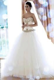big sweetheart wedding dress with veil sang maestro