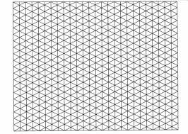 5mm Graph Paper A4 Isometric 5mm Graph Paper 50 Sheets Pad 90gsm Quality Heavy Weight Boo1376
