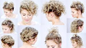Chopstick Hairstyle 10 easy hairstyles for short hair with curling iron milabu youtube 3864 by wearticles.com