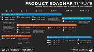 road map powerpoint template six phase agile timeline roadmap powerpoint template product