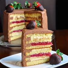 Too Tall Neapolitan Cake a true celebration cake
