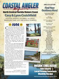 Coastal Angler Magazine June North Central Florida By