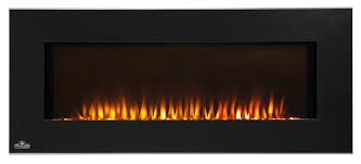 com napoleon efl42h linear wall mount electric fireplace 42 inch home kitchen