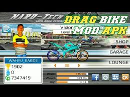 review and share game drag bike mod apk