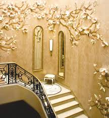 10 inspiration gallery from staircase wall decorating ideas