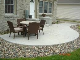 concreting backyard cost best concrete patios ideas on concrete patio stamped concrete and stamped concrete designs