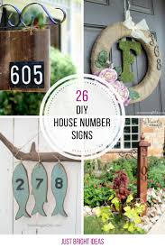 design your own house number plaque lovely 26 gorgeous diy house number signs you need to