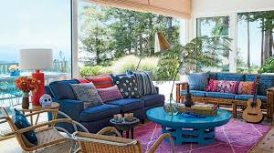 Carpet Colors For Living Room Beauteous 48 Ways To Decorate With Turquoise Coastal Living