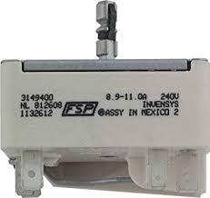 amazon com whirlpool 3149400 infinite switch for range home whirlpool 3149400 infinite switch for range
