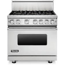 viking gas range. Viking Professional 7 Series 36-Inch 6-Burner Natural Gas Range - Stainless Steel VGR73616BSS : ShoppersChoice.com L